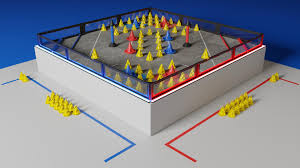 vex robotics led lights qcc2 in the zone field renders vex forum