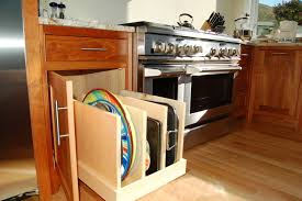 kitchen storage furniture ideas pullout tray storage traditional kitchen burlington by