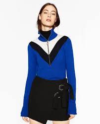 high sweaters zipped high neck sweater details 39 90 usd zara picks