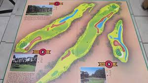 Sawgrass Map In Pursuit Of Par Tpc Sawgrass Edition Board Game 1988 Youtube