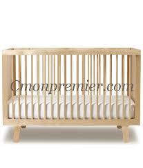 chambre bébé bois naturel lit bébé bois brut photo lit bebe evolutif