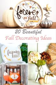 Fall Decorating Projects - 20 outstanding beautiful fall decorating ideas to try shabbyfufu