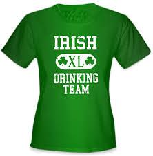 St Patrick U0027s Day Irish Drinking Team U0027s T Shirt