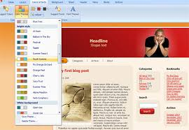 how to create your own professional website blog template using