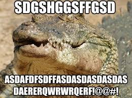 Crocodile Meme - sdgshggsffgsd asdafdfsdffasdasdasdasdasdaererqwrwrqerf pocket
