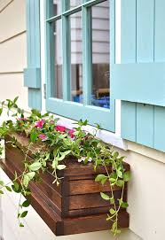 how to build a diy window sill box planter organic titanic
