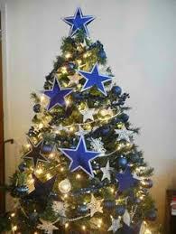Cowboy Christmas Decorating Ideas Dallas Cowboys Christmas Tree Holiday Deco Pinterest