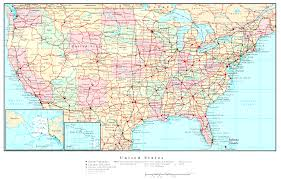 Arizona Road Map Shell Highway Map Northeastern Section Of The United States Us