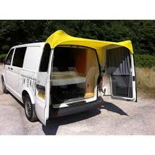 Ford Transit Connect Awning Barn Door Awning For Vw T5 Yellow Awnings Accessories Shop