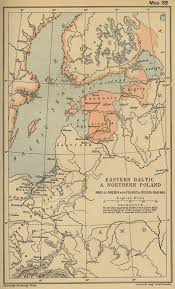 Baltic Sea Map Map Of The Baltic Regions And Poland 1560 1661
