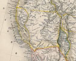 Arizona Strip Map by Utah Department Of Heritage And Arts