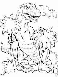 dinosaur t rex coloring pages kids coloring