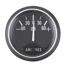 warner 284 a hd ammeter gauge 2 1 16 inch 60 0 60 amps