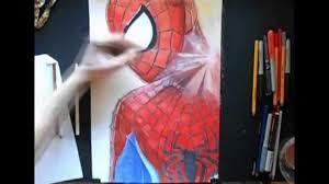 draw spider man amazing spider man 2 speed painting