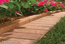 10 solid garden edging ideas with bricks garden lovers club