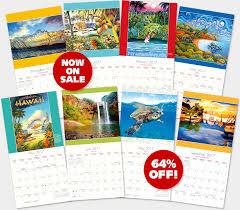 calendars for sale hawaiian calendars 2017 deluxe wall hawaii calendars island