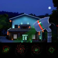 halloween light display projector waterproof outdoor motion laser light show projector for christmas