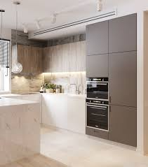 kitchen backsplash oak wood kitchen cabinet and grey white marble