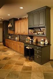 How To Paint Oak Cabinets by Using Chalk Paint For Oak Kitchen Cabinets Test Door Oak