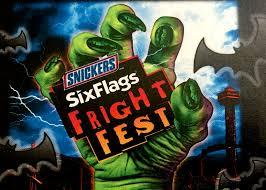 Fright Fest Six Flags New England Frightful Family Fun At Six Flags New England The Fortuitous
