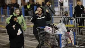 black friday shopping in us marred by violence news