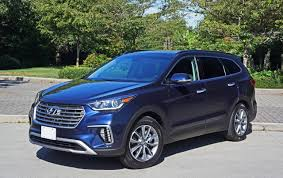 hyundai jeep 2017 2017 hyundai santa fe xl awd road test review carcostcanada