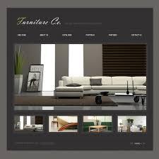 28 home decor website interiox interior design agency html5 home decor website furniture flash template 18532