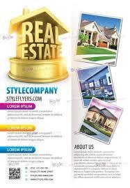 real estate psd flyer template diy e liquid pinterest psd