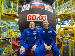 expedition 51 crew members and soyuz ms 04 spacecraft nasa