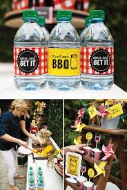 Rustic Backyard Party Ideas Rustic Backyard 30th Birthday Barbecue Summer Grilling Backyard
