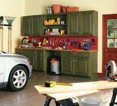 kitchen cabinets in garage using old kitchen cabinets to organize garage workshop my blogs