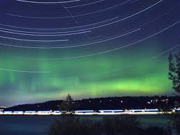 Northern Lights Michigan Forecast Northern Lights Provide A Glowing Sendoff To Seattle U0027s Summer
