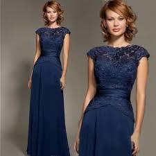 navy lace ribbon robe longue soiree lace navy blue evening dress chiffon lace