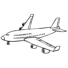 coloring airplane free printable realistic coloring