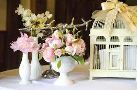 Vintage Vases Wedding Reception Flowers Lucy Wu Floral Design
