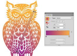 tutorial illustrator gradient quick tip using the gradient tool and gradient panel in illustrator