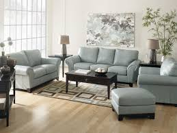 light blue leather sofa sets for living room decorating with brown