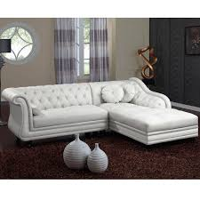 canapé chesterfield canapé chesterfield brighton 240cm blanc angle droit