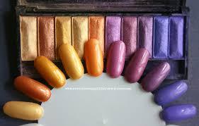 eyeshadow to nail polish fun with la palettes