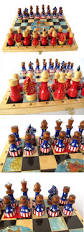 other chess 180348 new usa vs ussr soviet hand painted chess set