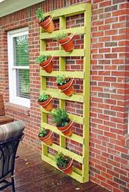 pallet wall planter ideas pallet ideas recycled upcycled