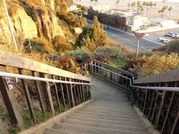 santa monica thanksgiving dinner santa monica stairs