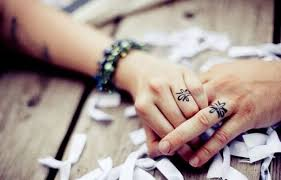 tattoo wedding rings for men and women ideas wasabifashioncult com