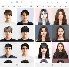 different hair korean app hair fit lets users try out a range of different