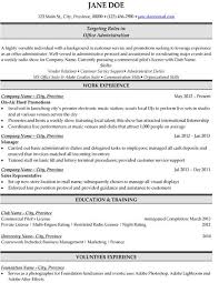 Admin Resume Examples 8 Best Best Accounts Receivable Resume Templates U0026 Samples Images