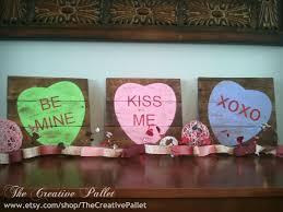 valentine u0027s day sign conversation hearts by thecreativepallet