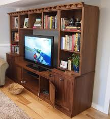 Craftsman Style Computer Desk Craftsman Style Entertainment Center In Walnut By Jmartel
