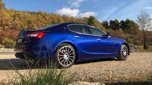 maserati ghibli blue 2018 maserati ghibli s gransport first drive italian charm