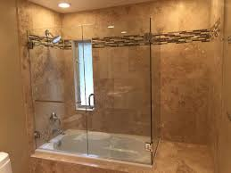 bathroom cabinets frameless glass shower enclosure with double