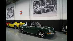 porsche 911 irish green 1969 porsche 911 targa sportomatic irish green youtube